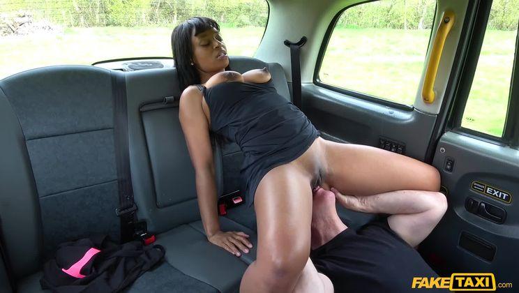 Ebony beauty tests cabbies stamina