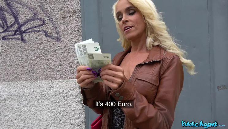 Tattooed busty German blonde MILF
