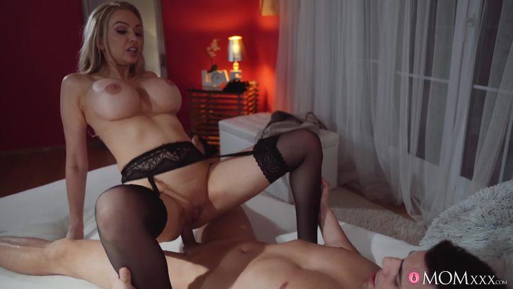 Blonde Milf desires strangers cock