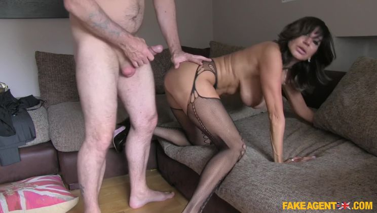 Office sex and anal action for hot Chilean MILF