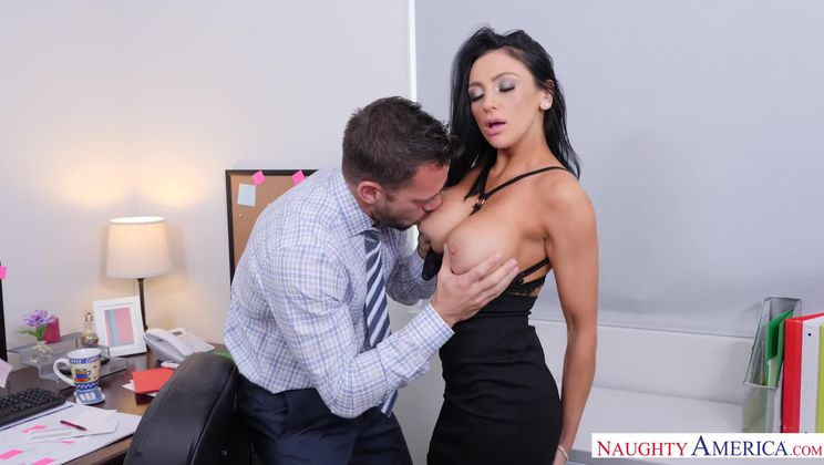 Audrey Bitoni,Johnny Castle Naughty Office